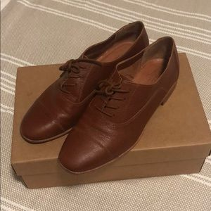 Madewell Lace-up Oxfords, size 6.5